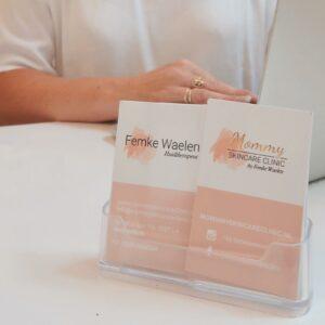 gratis intake, visite kaartjes contact